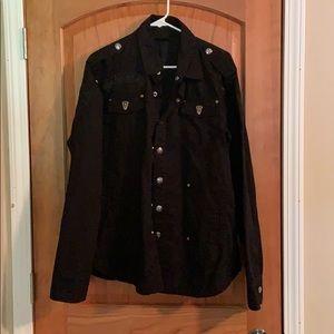 Large Black Label heavy duty shirt/jacket